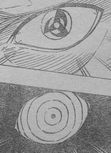 マダラの左目 オビトの左目