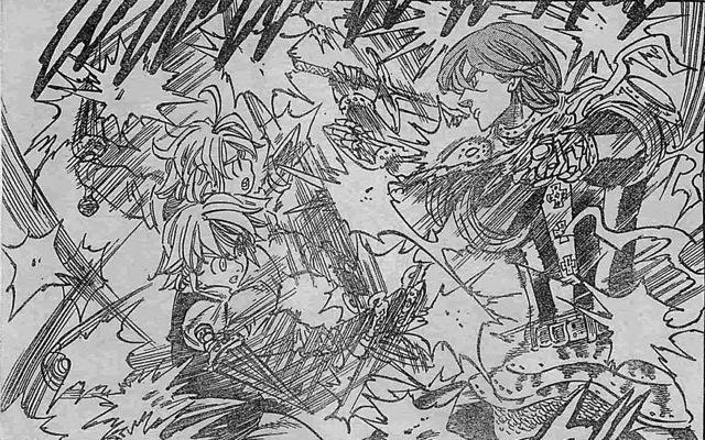 そのままメリオダスと交戦に入ります。メリオダスとアーサーは共同戦線をは... トルトルの漫画発表