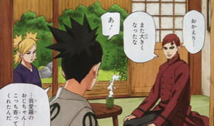 NARUTO final after war Gaara fifth kazekage