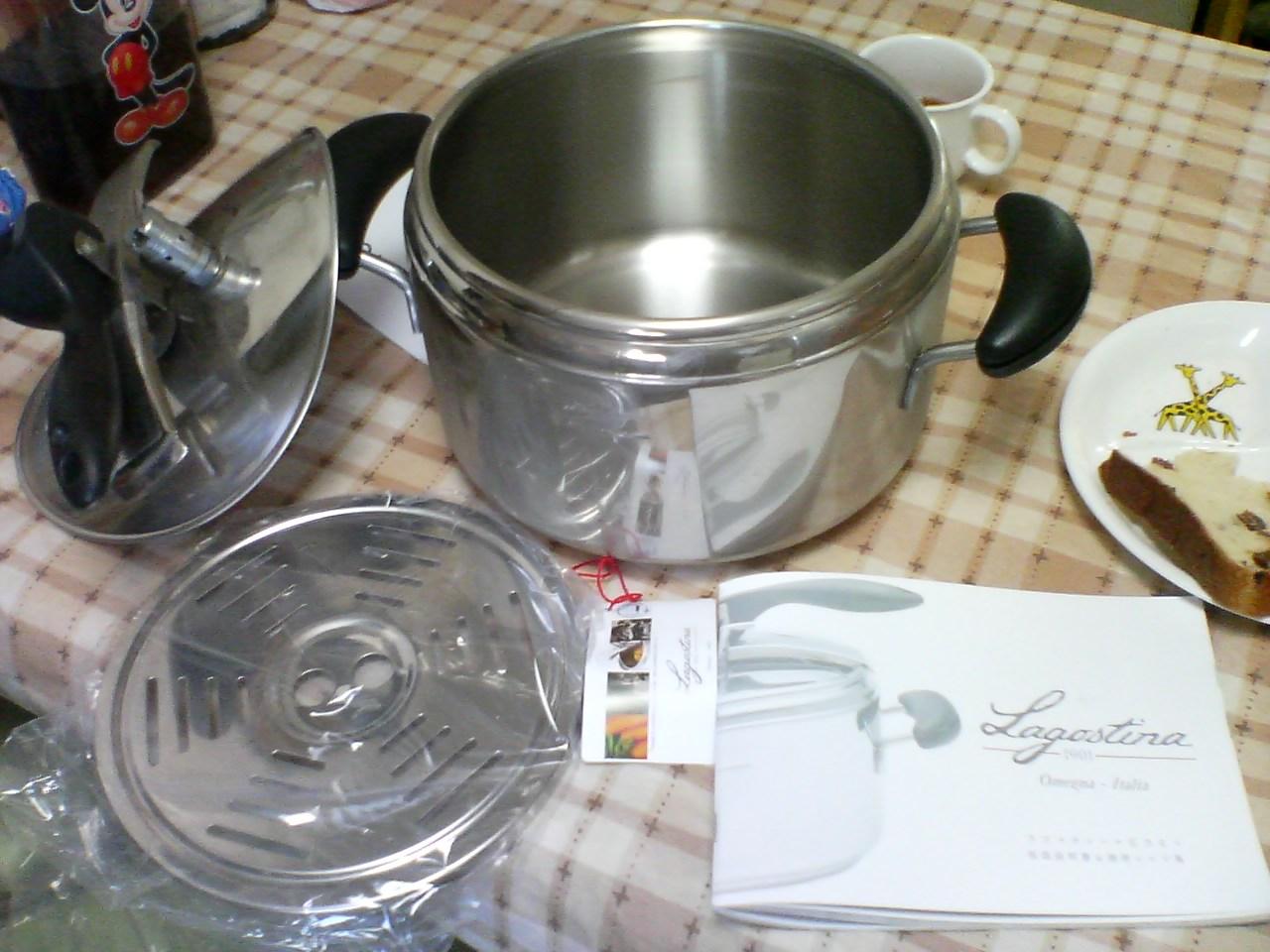 ラゴスティーナ 圧力鍋