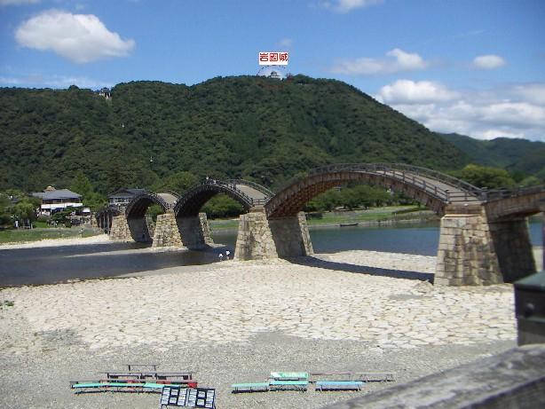 錦帯橋と岩國城
