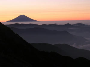 南ア・富士山