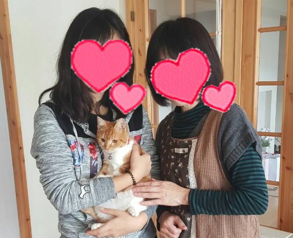 愛知・三重・岐阜犬猫保護ボラグループアニサポ里親様と