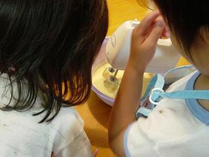 子供たちのお菓子作り
