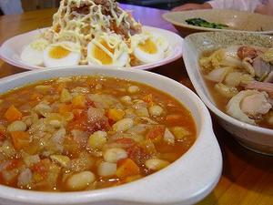 野菜たっぷり具沢山トマトスープ