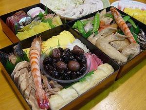 おせち料理2010