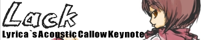 Lyrica`s Acoustic Callow Keynote