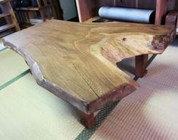 ここだけの欅テーブル