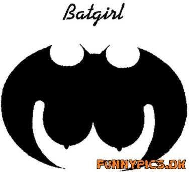 おもしろ画像:バットガール