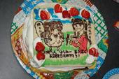 貴音誕生会ケーキ