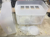 模型作業用の卓上集塵機を自作