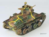 知波単学園 九五式軽戦車