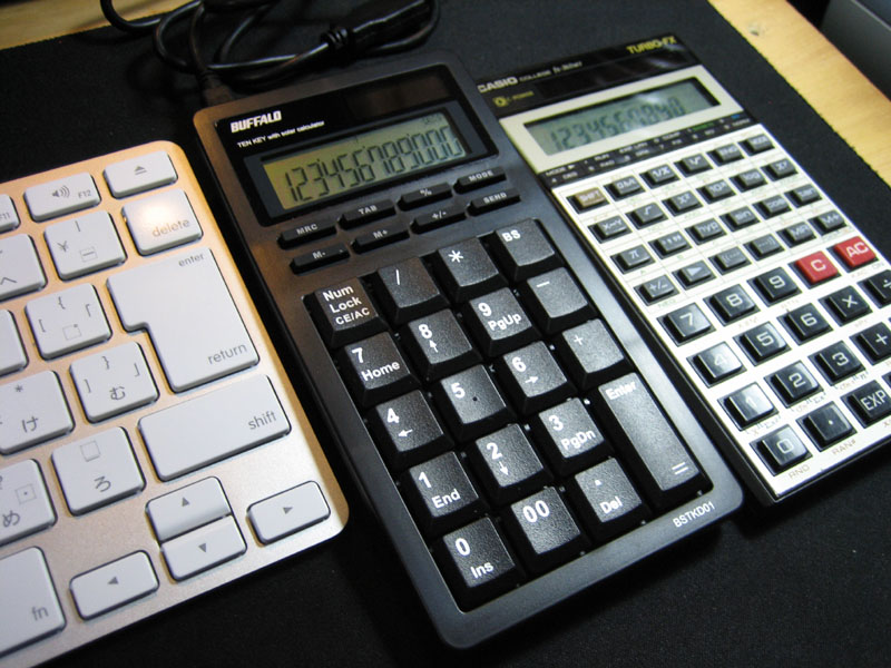 BSTKD01BKと電卓の比較2