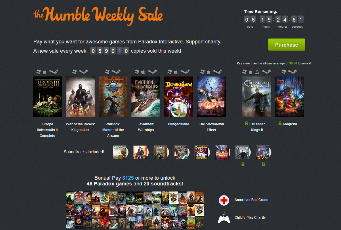 The Humble Weekly Sale: Parado...
