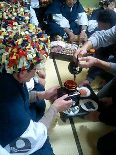 小豆沢の神事