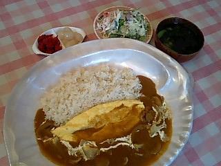 河童亭のカレーライス(青森市)