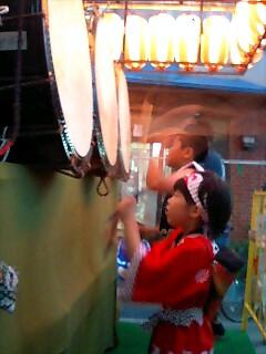 相馬町ネブタの太鼓