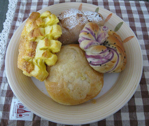 道の駅バサロのパン