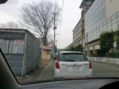 福島競馬場到着