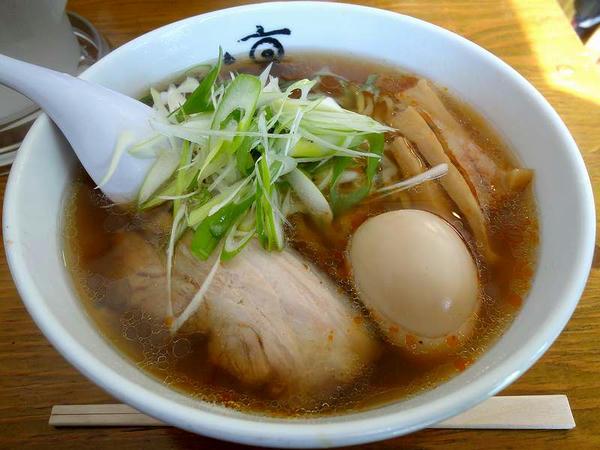 ラーメン(バラチャーシュー)+煮玉子