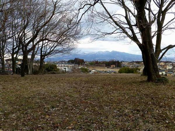 木俣から見た赤城山