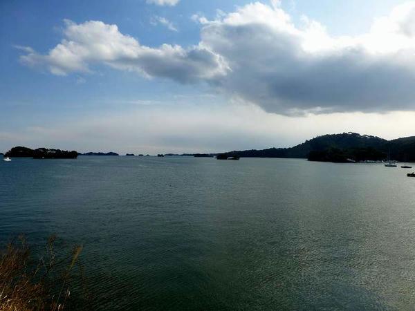 五大堂から見た松島