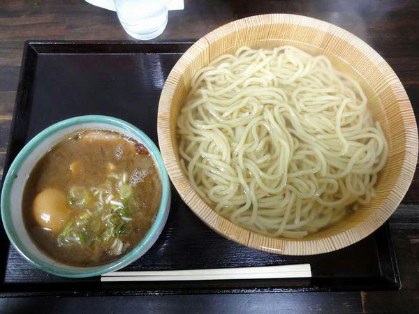 釜揚げつけ麺 780円 + 玉子