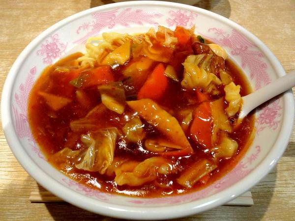 肉スタミナ冷し麺