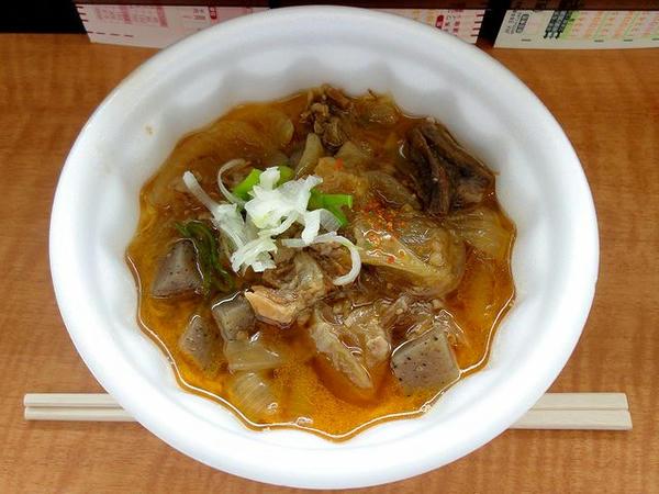 軽食大福の牛スジ煮込み