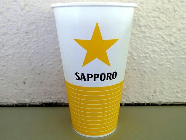 サッポロ生ビール 400円