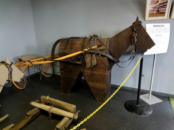馬の資料館展示物(1)