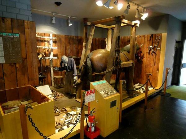 馬の資料館展示物(2)