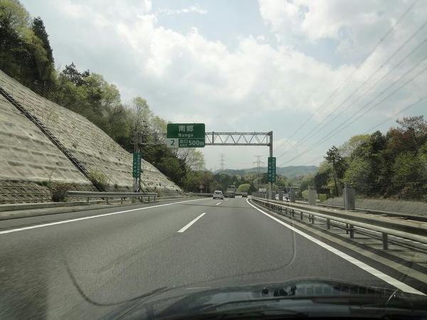 瀬田東JCTから京滋バイパスへ