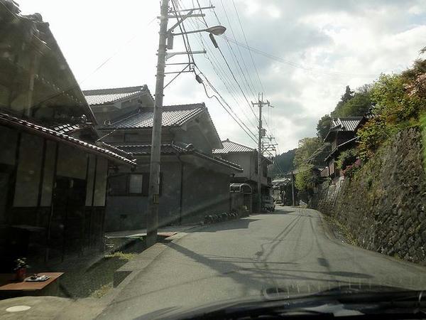 千早赤阪村内の府道705号