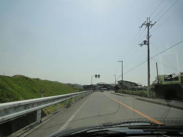 貝塚市内の国道170号旧道