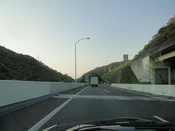 阪和道走行中
