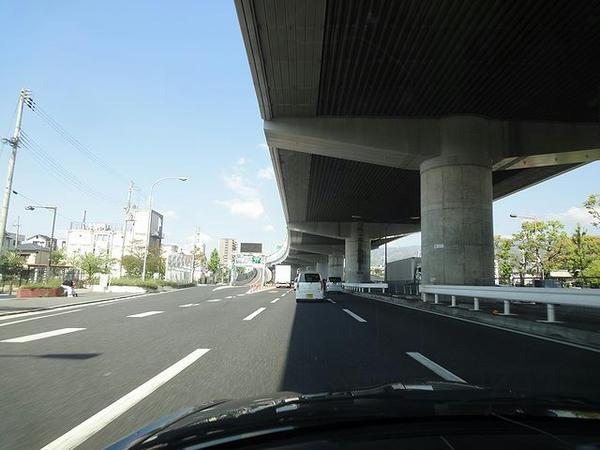 神戸市内の国道43号