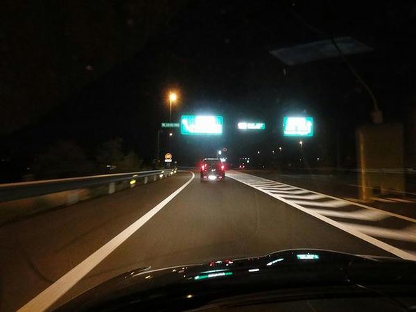 高崎JCTから北関東道へ
