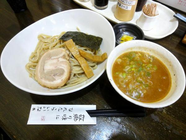 蟹ダシつけ麺