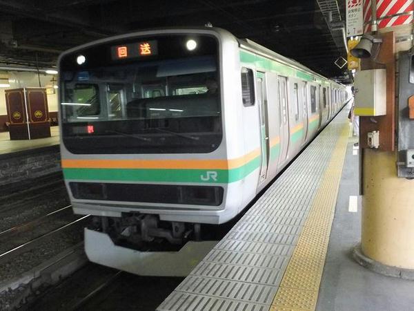 JR宇都宮線上野行き普通列車