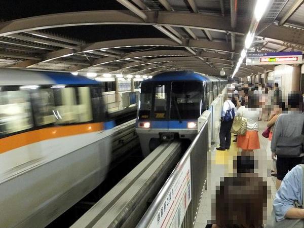 東京モノレール浜松町行き普通列車