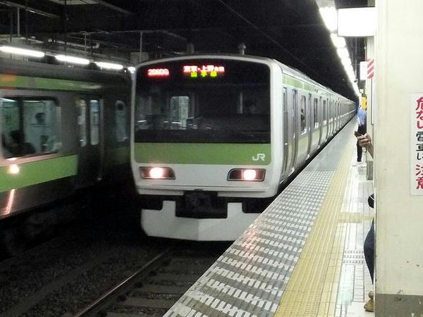 JR山手線内回り普通列車