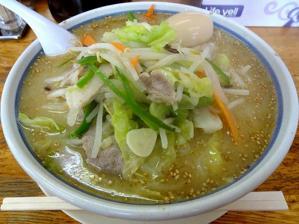 味玉野菜ラーメン(しお味)