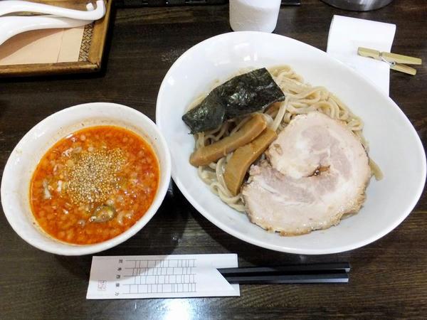 辛味噌つけ麺+麺100g(合計300g)