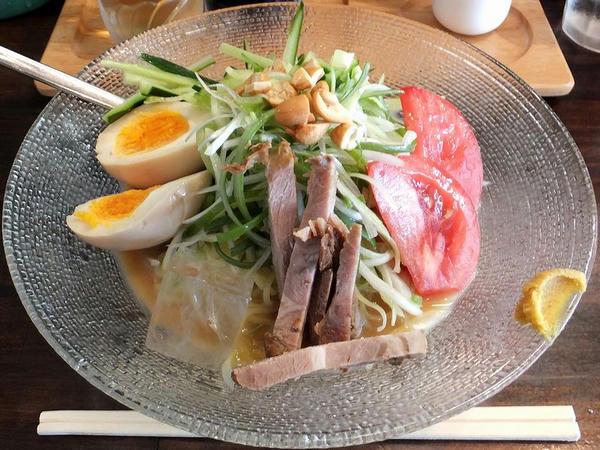 ねぎ冷し麺(普通盛り)