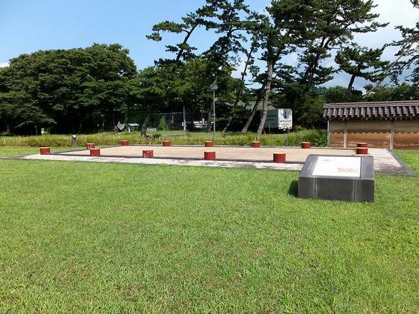 政庁建物跡