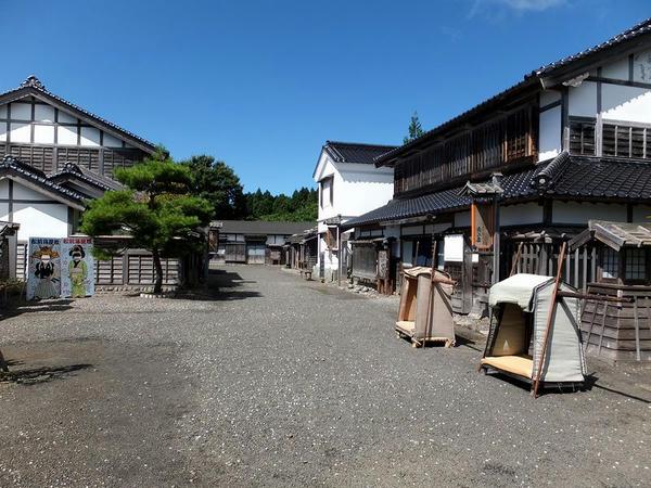 松前藩屋敷入口付近
