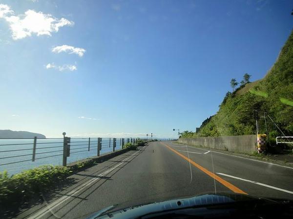 津軽海峡を見ながら