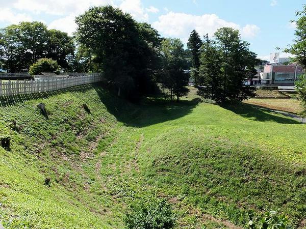 本丸西側の堀