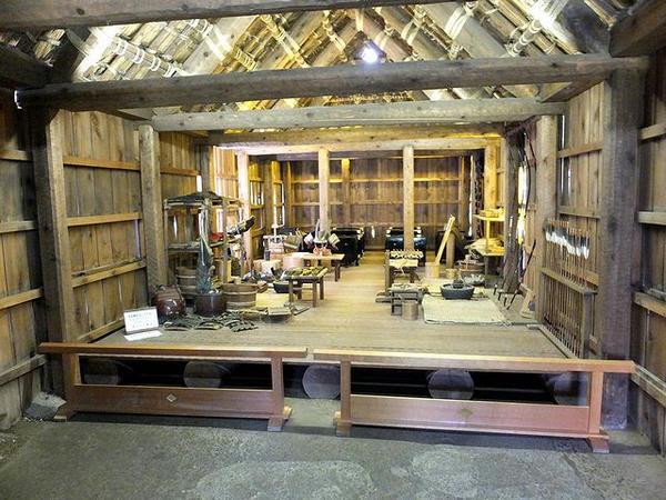 工房の内部